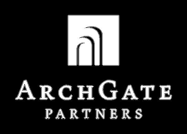 ArchGate Partners Logo White